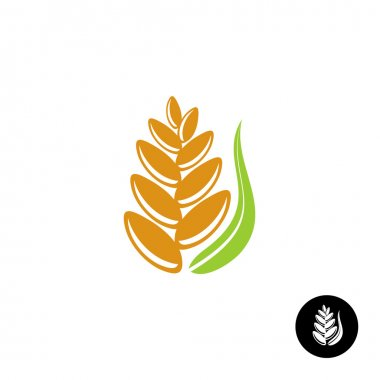 Wheat ear logo