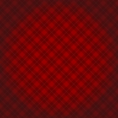 Lumberjack checkered diagonal square