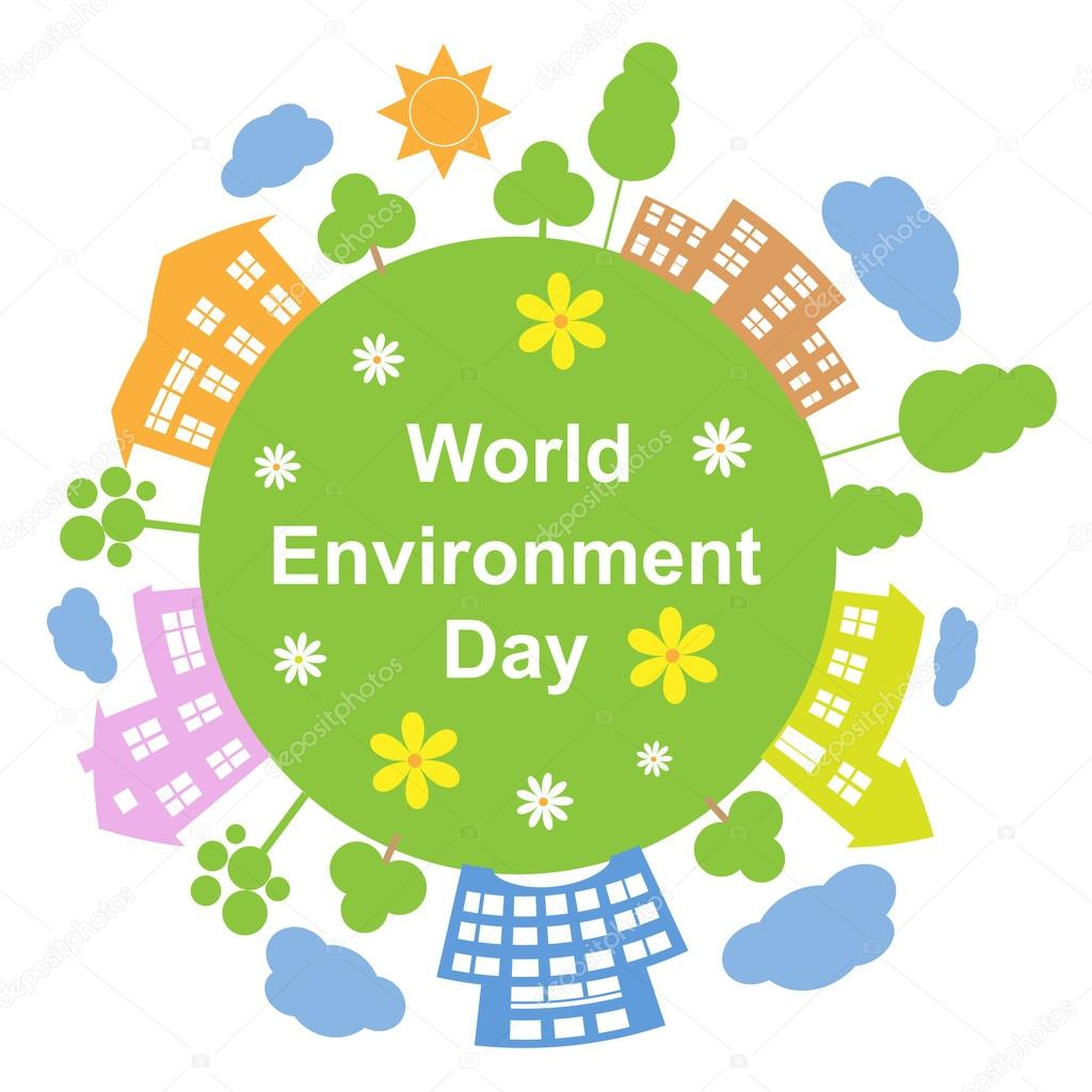 World Environment Day, Vector Illustration