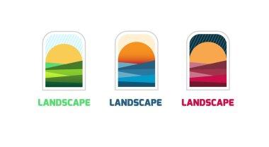 landscape logo teamplate