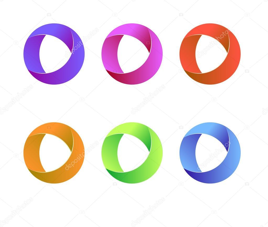 round logo design the image kid has it. Black Bedroom Furniture Sets. Home Design Ideas