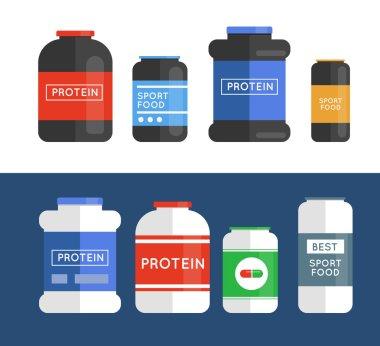 Bodybuilding sport food
