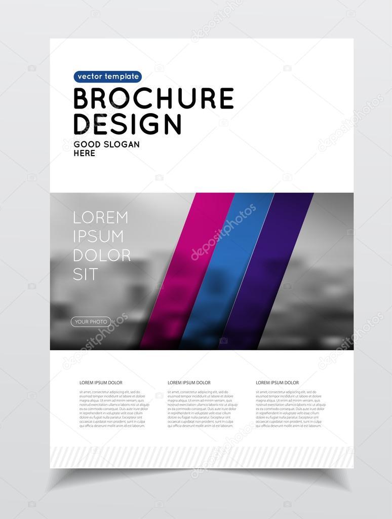 Jährliche Business Broschüre Deckblatt — Stockvektor © alejik #119329804