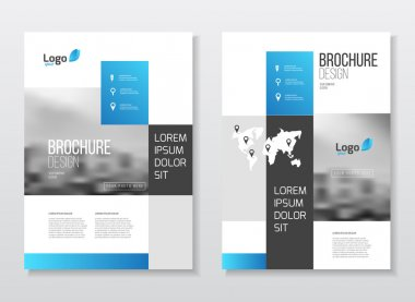 Blue Business Brochure design