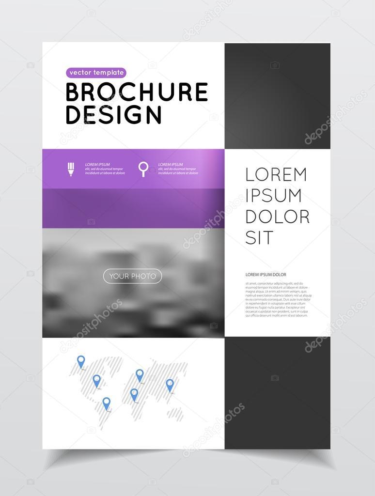 Jährliche Business Broschüre Deckblatt — Stockvektor © alejik #119330192