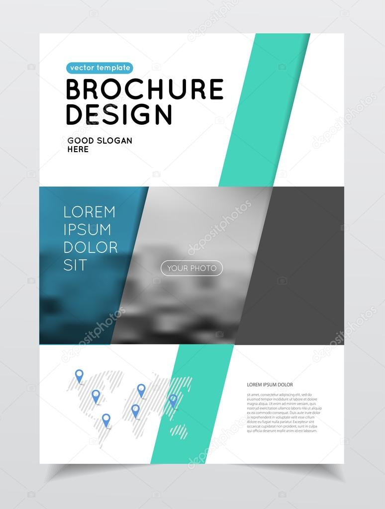Jährliche Business Broschüre Deckblatt — Stockvektor © alejik #119330388