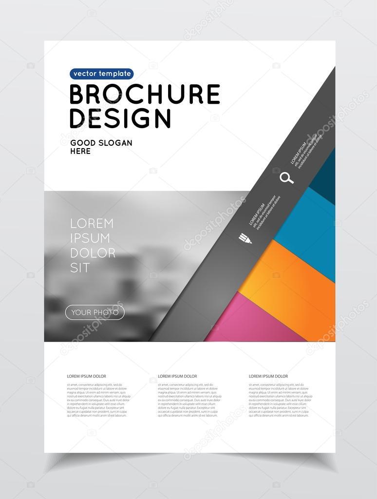 Jährliche Business Broschüre Deckblatt — Stockvektor © alejik #119330398