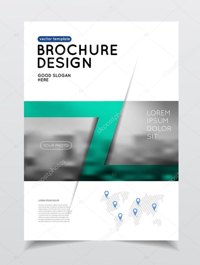 Jährliche Business Broschüre Deckblatt — Stockvektor © alejik #119330400
