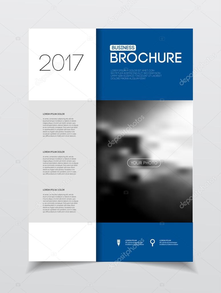 Jährliche Business Broschüre Deckblatt — Stockvektor © alejik #119332012