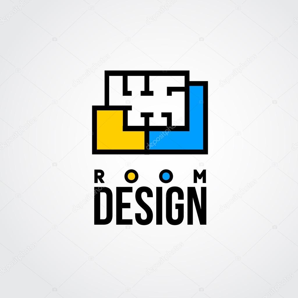 Raumgestaltung logo  Raumgestaltung — Stockvektor #69707933