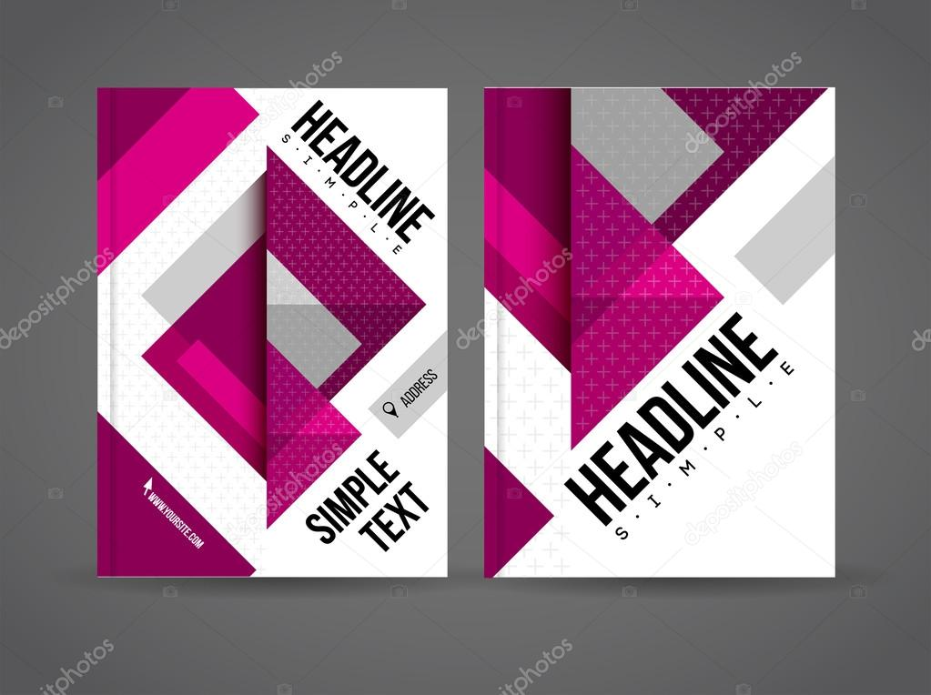 Abstract Geometric Background with infographics
