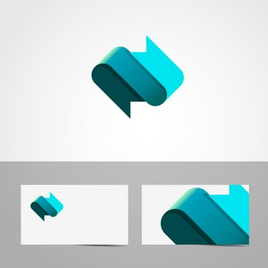 Abstract logo icon