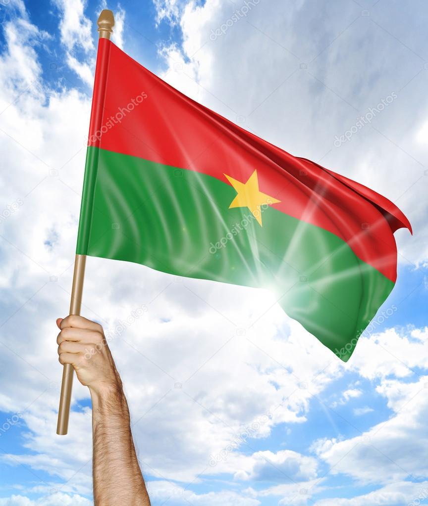 Azerbaijan National Flag