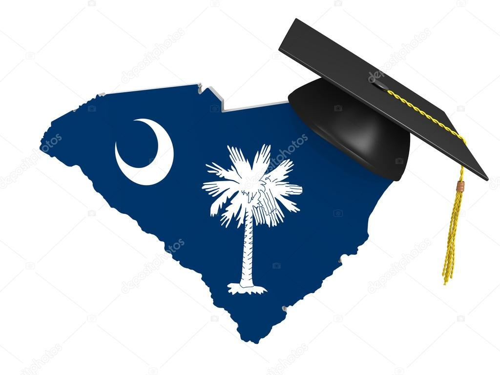 South Carolina State College And University Education Stock Photo