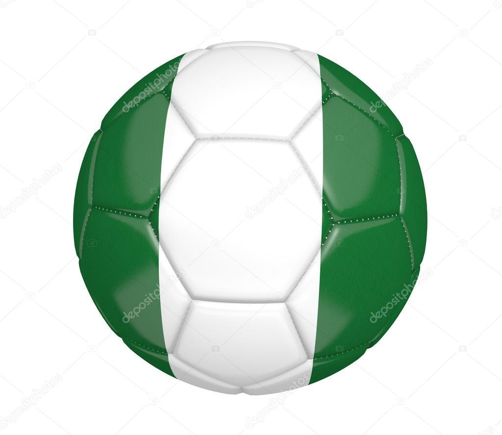 Fußball, auch bekannt als einen Fußball mit den Farben der ...