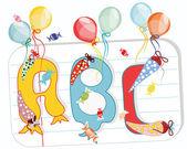 ABC Printec, Schulpapier, bonbon, Luftballons