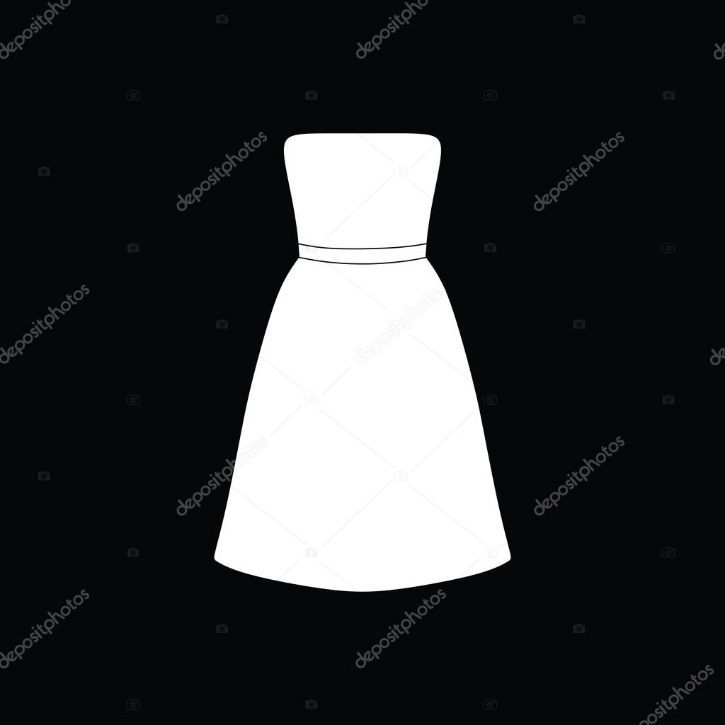 fe77ec5efecc Γυναικεία ρούχα. καθημερινό ντύσιμο. φόρεμα — Διανυσματικό Αρχείο ...
