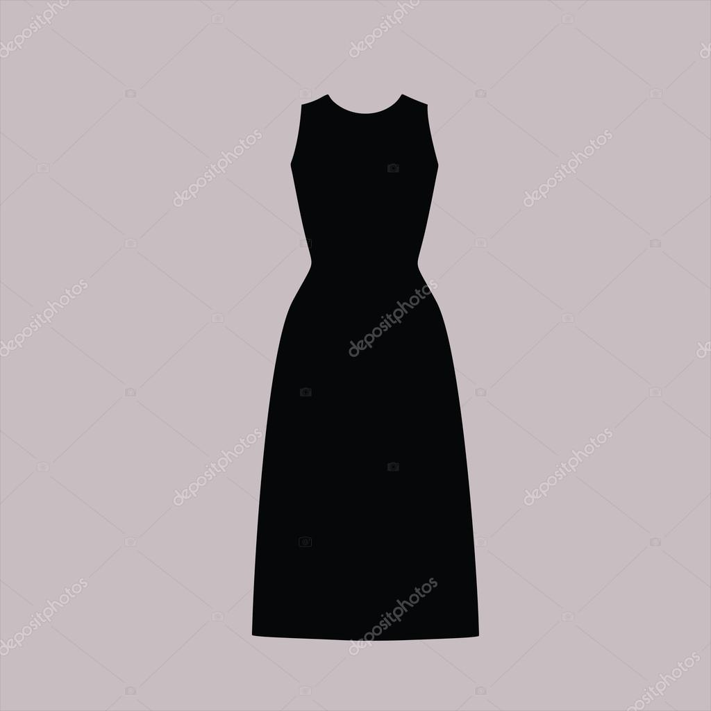 4b634993d9c8 Καθημερινό ντύσιμο. φόρεμα γυναικών συντάσσονται διάνυσμα — Διανυσματικό  Αρχείο