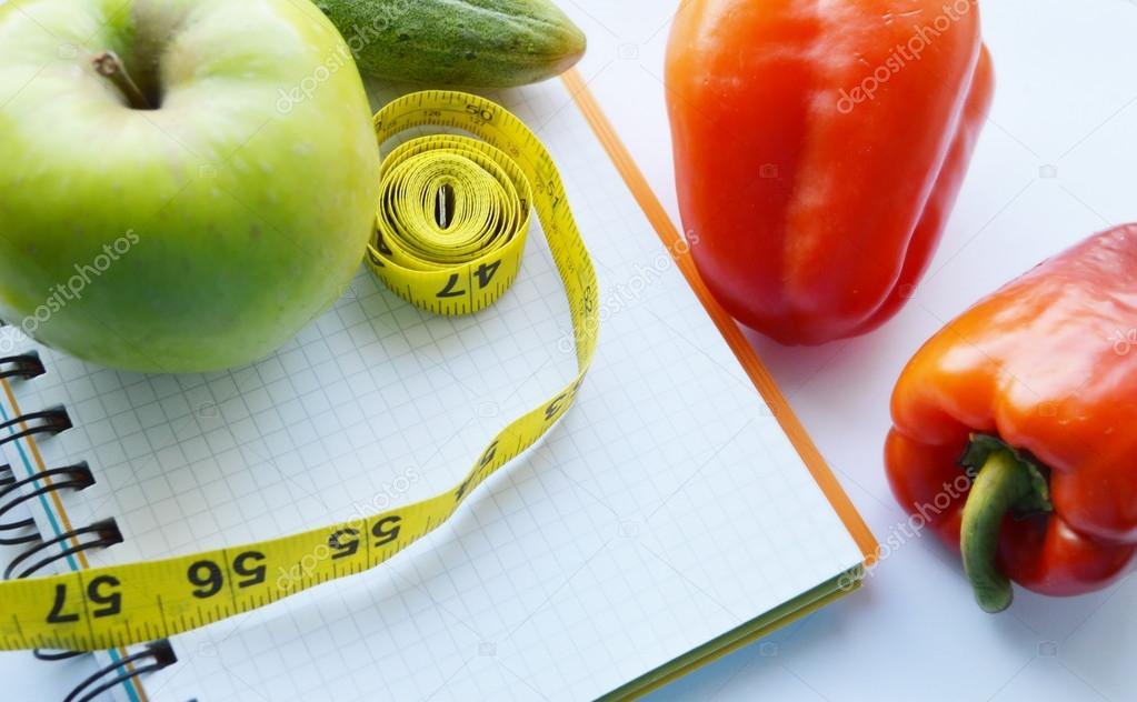Pleasing Vegetables And Fruits For Weight Loss A Measuring Tape Download Free Architecture Designs Scobabritishbridgeorg