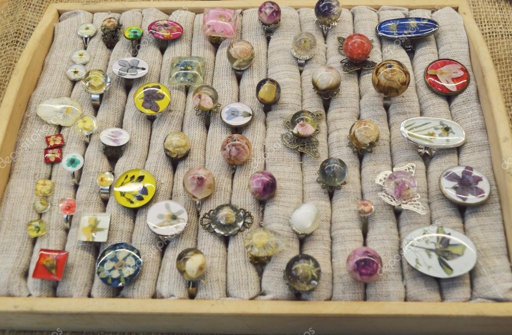 Handmade jewelry, magical, beautiful earrings made of epoxy resin