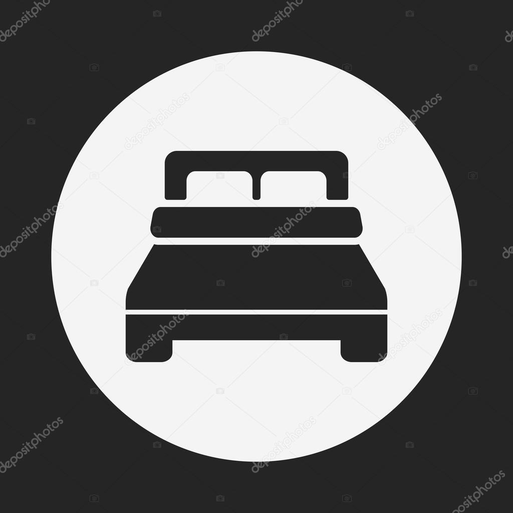 Bett Symbol Stockvektor C Vectorchef 72282627