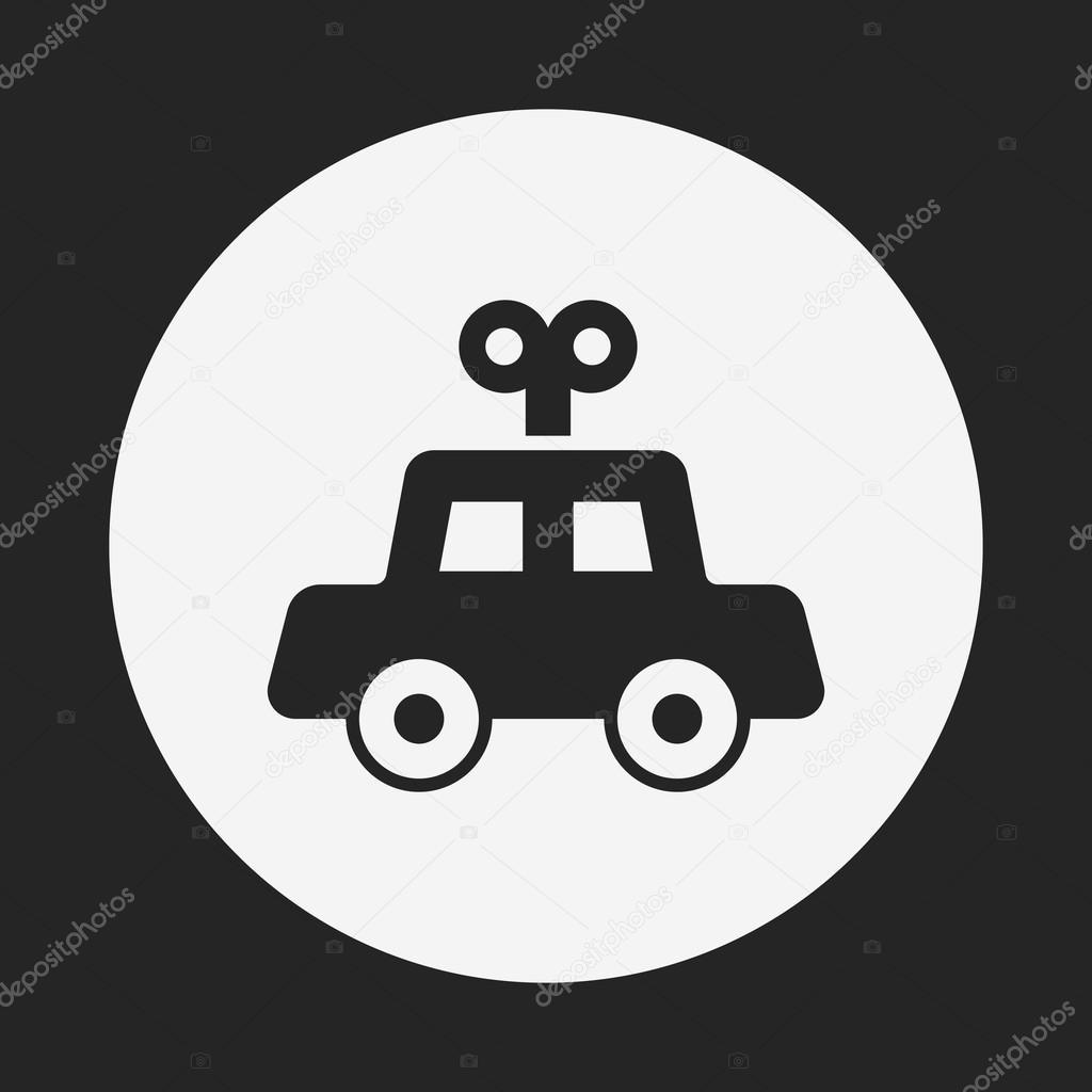 Toy Car Icon Stock Vector C Vectorchef 74746167