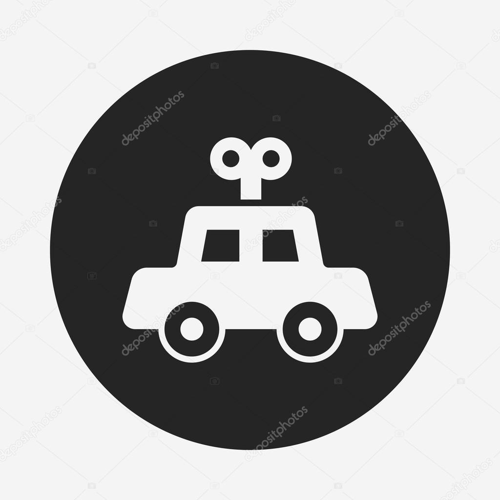 Toy Car Icon Stock Vector C Vectorchef 74746233