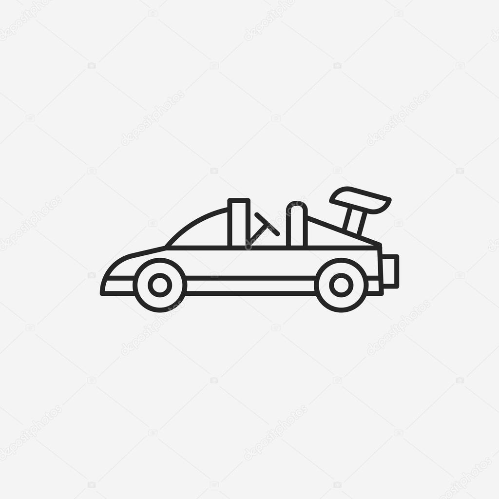 Toy Car Icon Stock Vector C Vectorchef 74746867