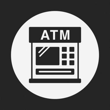 financial bank ATM icon