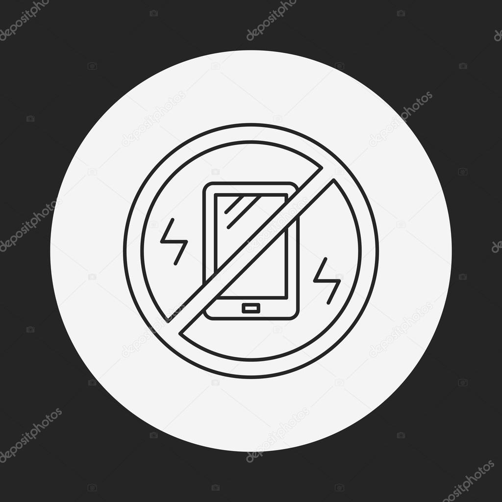 Biegen Sie in die Vibration Symbol — Stockvektor © vectorchef #74878673