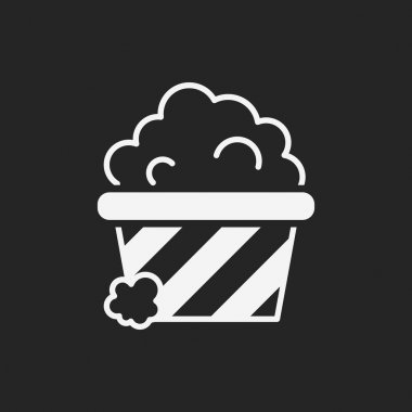 theater drinks and popcorn icon