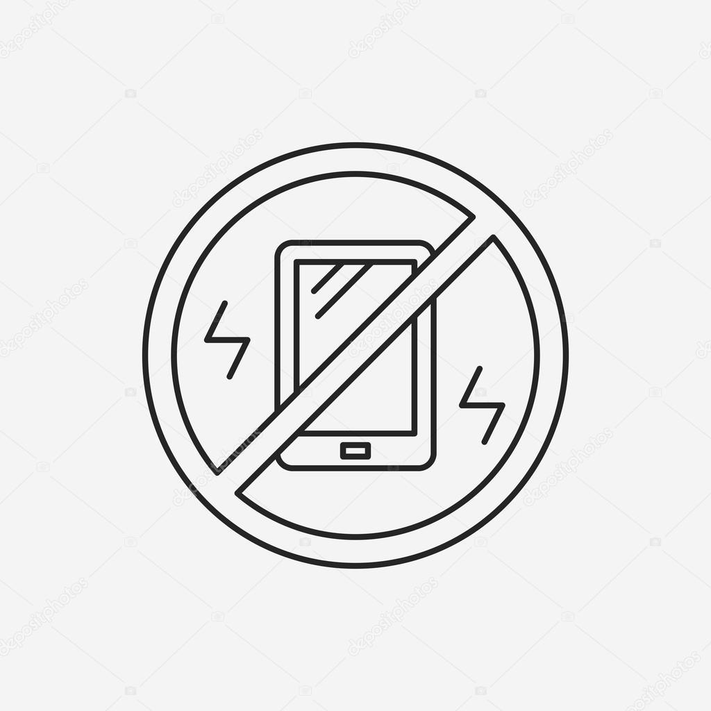 Biegen Sie in die Vibration Symbol — Stockvektor © vectorchef #74883053
