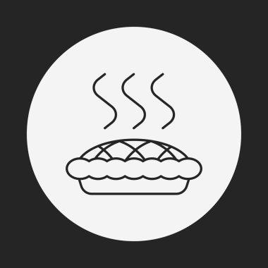 pie line icon