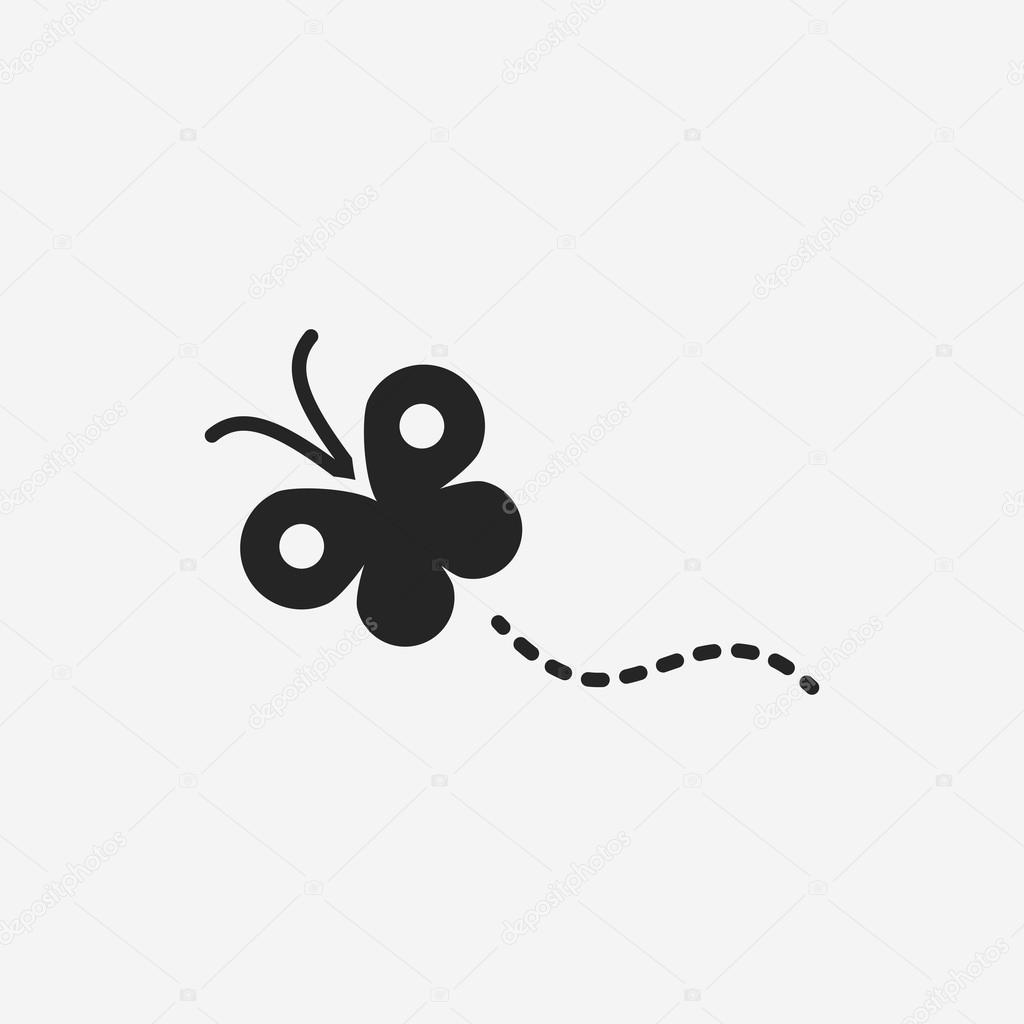 butterfly icon stock vector c vectorchef 78680398 https depositphotos com 78680398 stock illustration butterfly icon html