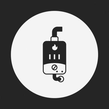 Water Heater icon clip art vector