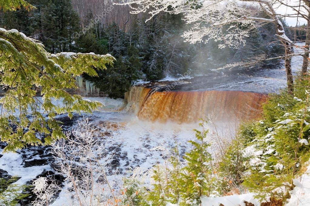 Tahquamenon Falls in Winter - Michigan