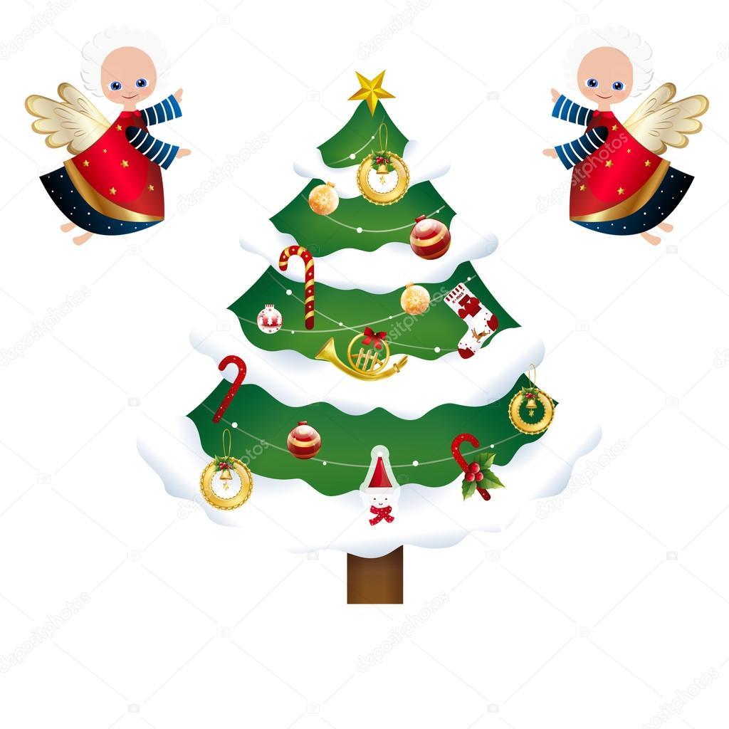 Sammlung von verschiedenen Weihnachts-Icons - Set von Weihnachts ...