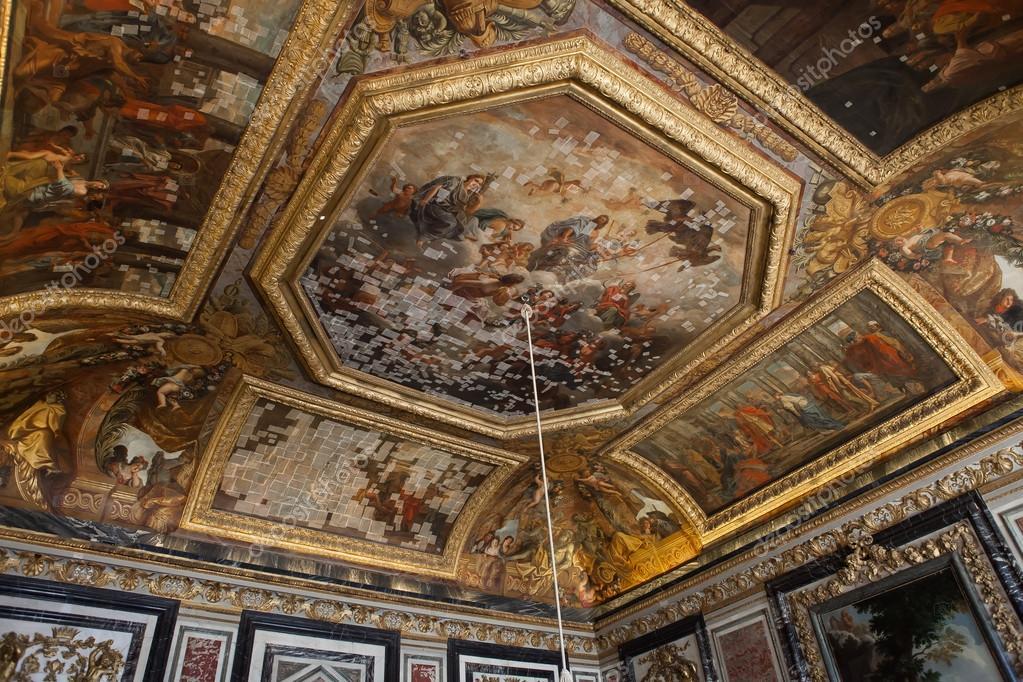 Interieur und Informationen über Chateau de Versailles, Frankreich ...