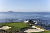 Pebble Beach golf course, Monterey, Kalifornie, Usa
