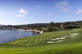 Pebble Beach golf course, Monterey, Kalifornie, Usa