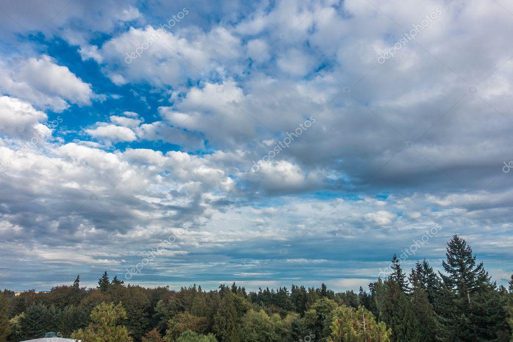 Clouds Over Burien