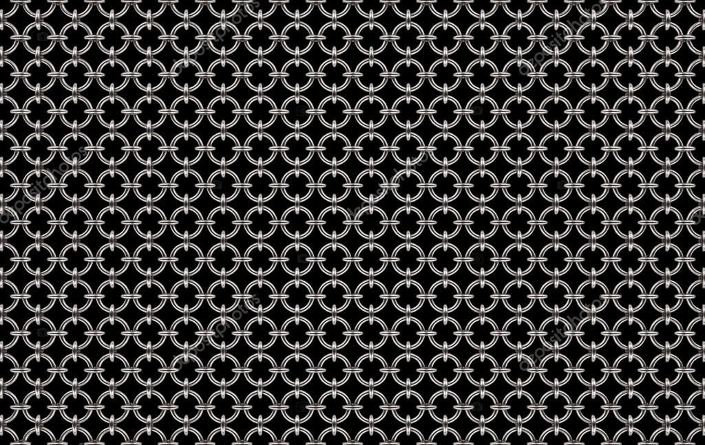 Textura de cota de malla brillante — Foto de stock © Dana_C #116183440