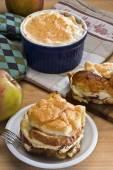 Chléb pudink jablka České nebo německé stylem - Zemlovka, Semmellauflauf