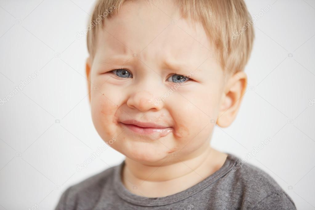 Child. Close up portrait of funny little boy. Trendy children of the world. Kids emotion