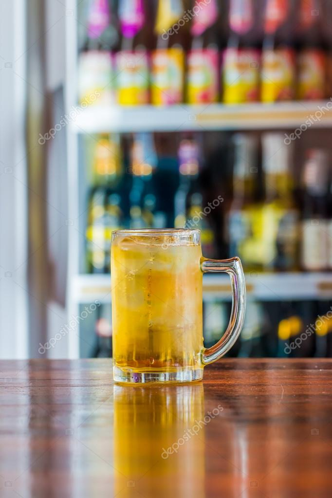 cool beer in glrass stock photo somboon srisart 90734974