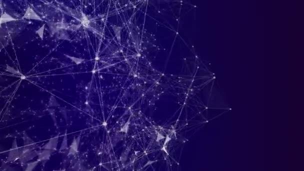 4 k Technology abstrakte Animation Hintergrund. Nahtlose Loop.