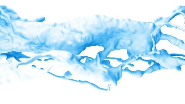 abstraktní střik vody