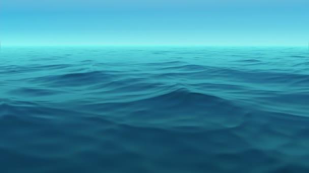 modré hladiny moře