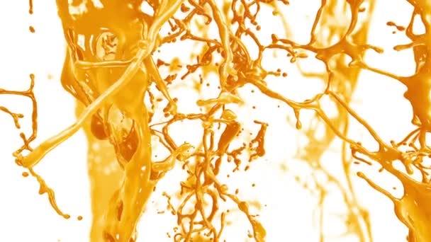 Flying through Fresh Orange Juice flow.