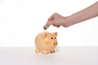 Saving money little by little